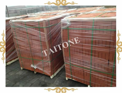 Red Clay brick (smooth surface)