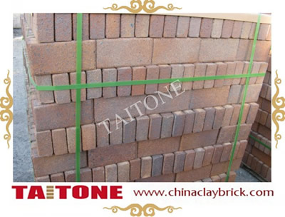 Clinker Clay pavers- Brown Roan color