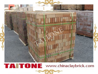 Clinker Clay pavers- Yellow Roan color